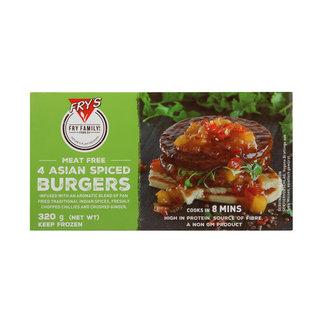 4 Asian Spiced Burgers 320g