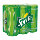 Sprite Lemon Lime & Cucumber 300ml Can x 6
