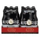 Klipdrift & Cola 0% Sugar 275ml x 24