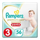 Pampers Premium Disposable Pants Size 3 VP 56's