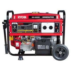 Ryobi Generator 5500W 4 Stroke Key Start