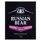 Russian Bear Vodka Wild Berry/Guarana 750ml x 6