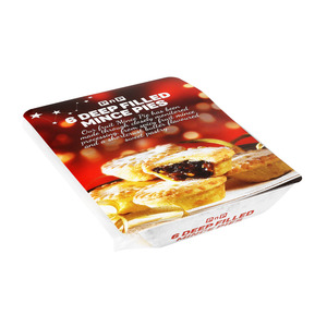 PnP Christmas Deep Filled Fruit Mince Pies 6s