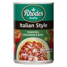 Rhodes Italian Style Tomatoes 410g