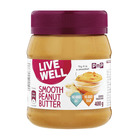 PnP Live Well Smooth Peanut Butter 400g