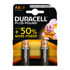 Duracell Alkaline Batteries Plus Power AA 2s