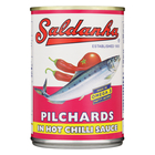 Saldanha Pilchards In Chilli Sauce 400g