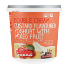 PnP Double Cream Stewed Fruit  Yoghurt 1kg