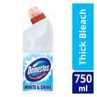 Domestos White & Shine Multipurpose Thick Bleach 750ml