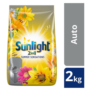 Sunlight  2in1 Summer Sensations Autowashing Powder 2kg