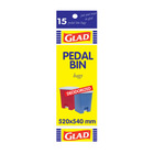 Glad Pedalbin Bags 520 X 540 Mm 15