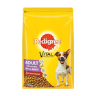 Pedigree Beef Vegetable & Ri ce Dog Food 1.75 KG