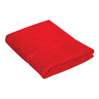 Colibri Velour Bath Sheet Red