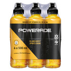 Powerade Island Burst Sports Drink 500ml x 6