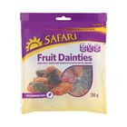 Safari Mixed Dried Fruit Cubes Assorted 250g