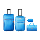 Elite 4 Piece Travel Set Blue