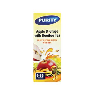 Purity Rooibos Tea with Apple & Grape Nectar 200ml