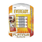 Eveready Alkaline Plus Aaa 4 P 4