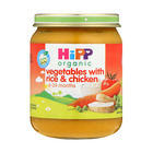 Hipp Organic Stage 1 Vegetable  With Rice And Chicken 125g