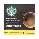 Starbucks Veranda Blend by Nescafe Dolce Gusto Blonde Roast Coffee pods 12s