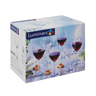 Luminarc Wine Glasses 350cl 6s