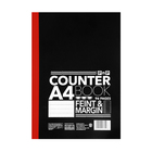 PnP A4 96 Page Counter Book