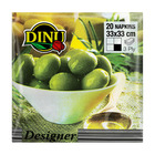 Dinu Olives Design Napkins 20ea
