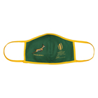 Adults Mask M-L Rugby Themed Green
