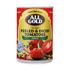 All Gold Cut Peeled and Diced Chilli Tom atoes 400g