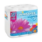 Twinsaver Luxury 2 Ply Toilet Paper 18s x 4