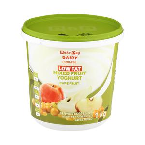 PnP Low Fat Cape Fruit Yoghurt 1kg