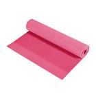 Smartfit PVC Yoga Mat 3mm Pink