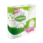 Twinsaver 2 Ply White Luxury Toilet Paper 9s
