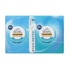 Lil-lets Unscented Maxi Thick Pads with Wings Regular 20s