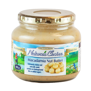 Nature's Choice Macadamia Nut Butter 410g