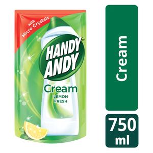 Handy Andy Lemon Fresh Multipurpose Cleaning Cream refill 750ml
