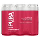 Pura Soda Pomegranate 330ml x 6