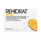 Rehidrat Oral Electrolyte- Orange Flavour 6ea