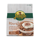 JUNGLE MUESLI CLUSTERS CHOC FLAV 400GR