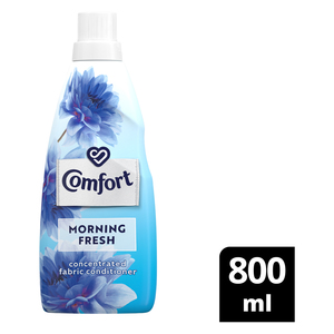 Comfort Morning Fresh Concentrated Fabric Conditioner 800ml