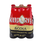 Klipdrift & Cola 275ml x 6