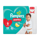Pampers Baby-Dry, Size 6 Value Pack, 35 Nappy Pants