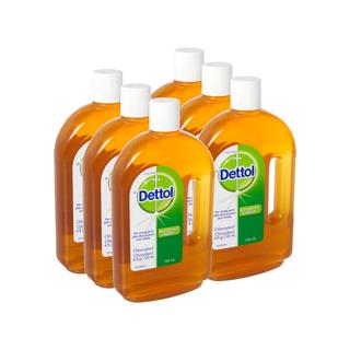Dettol Antiseptic Liquid 750ml x 6