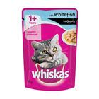 Whiskas Pouch Whitefish In Gravy 85g