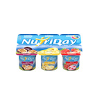 Danone Nutriday Low Fat Strawberry, Banana & Granadilla Fruit Yoghurt 6s