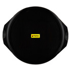 Alplas Plastics 40cm Round Tray Black