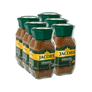 Jacobs Kronung Instant Soluble Coffee 10 0g x 6