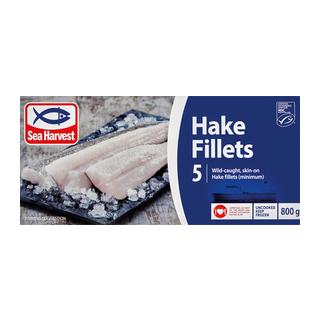 Sea Harvest Prime Hake Fillets 800g