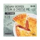 PnP Pepper Steak & Cheese Pie 600g