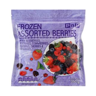 PnP Frozen Assorted Berries 350g